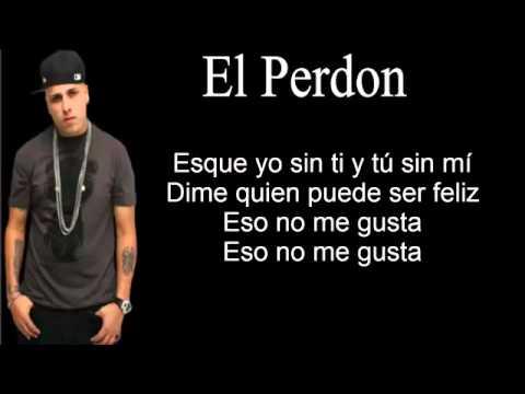 El Perdón - Nicky Jam ( Letra )
