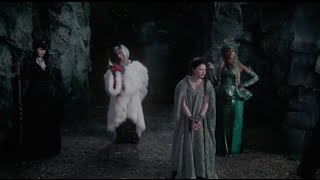 OUAT - 4x11 'Thought I caught a whiff of desperation and gin' [Belle, Rumple & Queens of Darkeness]