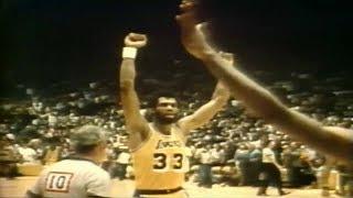 Kareem Abdul Jabbar - Vintage NBA (Basketball Documentary)