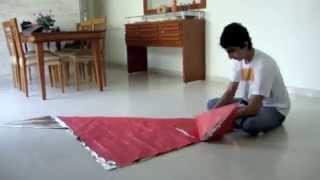 Ancient Dragon (Kamiya Satoshi) Origami Folding - Fast Motion