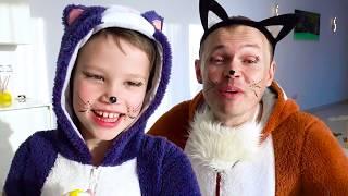 Fun kids song The three Little kittens