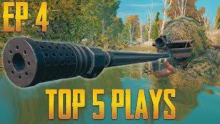 PUBG Top 5 Plays Episode 4   PlayerUnknown's Battlegrounds Top Plays
