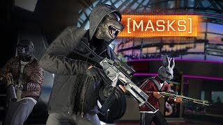► NEW MASKS + BOUNTY HUNTER! - Battlefield Hardline News