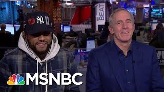 Rapper Dave East Talks Power, Love, Politics & New Album 'Survival' With Melber And Trump Co-Author