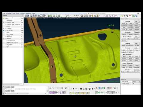 How to easily create and handle shape features in ANSA