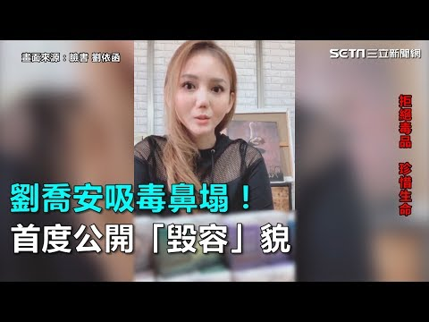 劉喬安吸毒鼻塌! 首度公開毀容貌|三立新聞網SETN.com