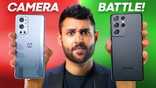 OnePlus 9 Pro vs Samsung S21 Ultra Camera Test Comparison.