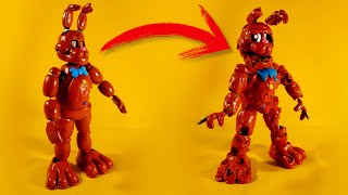 MELTED CHOCOLATE BONNIE😱😱(FNAF AR SPECIAL DELIVERY) PLASTILINA✔✔✔ PORCELANA✔✔ POLYMER CLAY✔