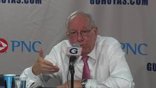 Jim Boeheim at Georgetown Postgame