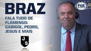 GELO NO SANGUE! Marcos Braz fala tudo de Flamengo: Gabigol, Pedro, Jesus e mais