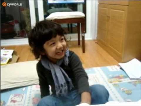 【SHINee Hello Baby Yoogeun】〖101025〗Yoogeun singing birthday song :D
