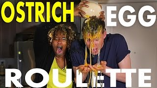 OSTRICH EGG ROULETTE CHALLENGE w/ GLOZELL | Collins Key