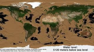 Ako by planéta vyzerala bez morí?