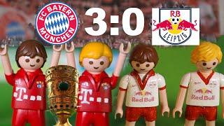 ⚽ DFB POKAL FINALE - BAYERN MÜNCHEN VS. RB LEIPZIG 3:0 - Fussball Playmobil Stop Motion