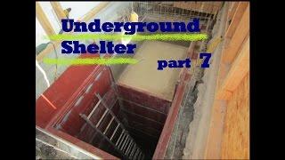 UNDERGROUND shelter, How to build an underground Bunker!!! #7