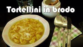 Como hacer Capelettinis | Tortellini in brodo? receta fácil italiana Ricetta: tortellini in brodo.
