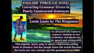 English Grammar Errors - English Second Language - ESL Lesson 59 - English With Song