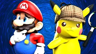 SMG4: Detective Mario &  Pikachu