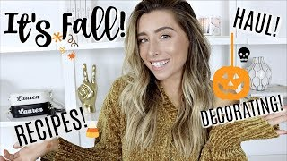 GETTING READY WITH ME FOR FALL!
