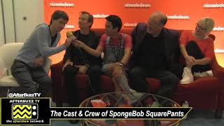 SpongeBob SquarePants Cast Reacts to 20 YEARS of the Show   SDCC 2019