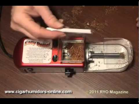 Easy Roller Electric Cigarette Injector How It Works