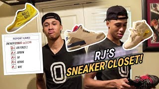 RJ Hampton Doesn't Have A Sneaker Closet... He Has A SNEAKER ROOM! Top Point Guard Got The DRIP 🔥