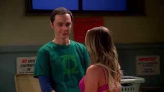 The Big Bang Theory - Penny Hitting On Sheldon