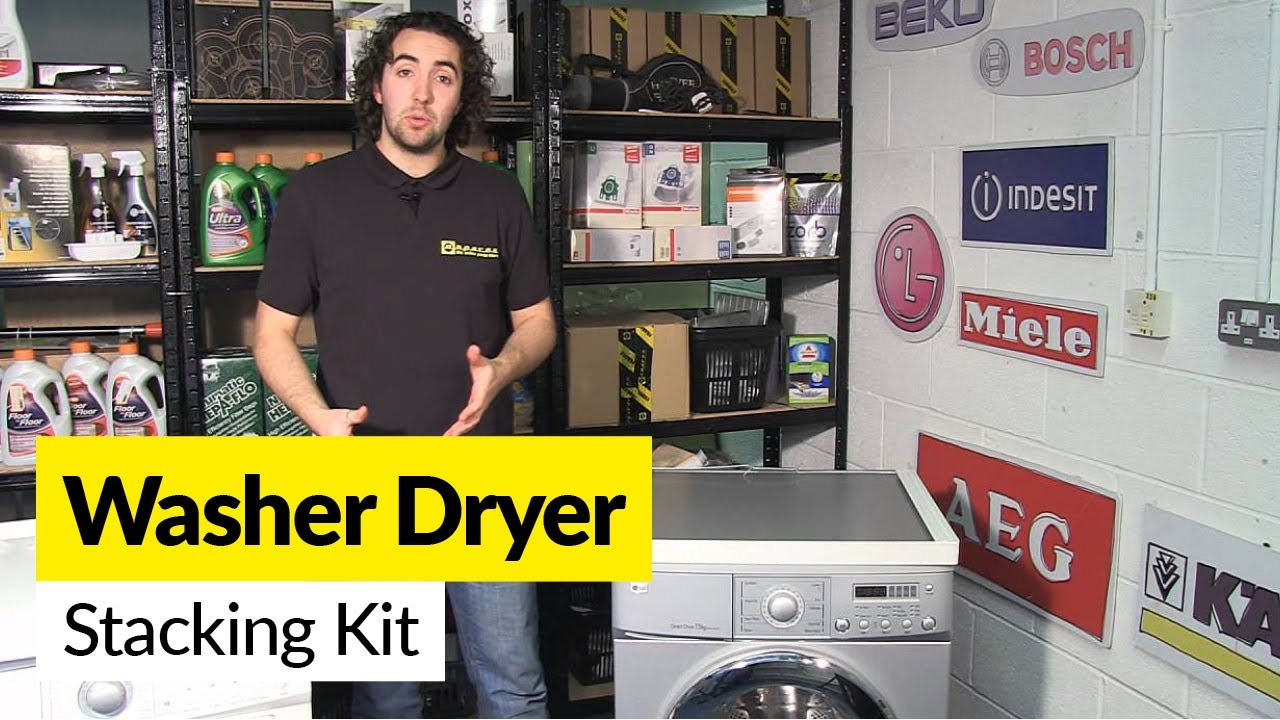 How To Use A Washer Dryer Stacking Kit Youtube