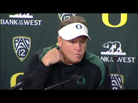 Chip Kelly After Oregon's 17-14 Loss To Stanford - YouTube