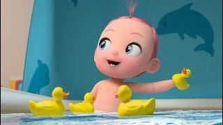 Cinq Petits Canards  - KidooyTV Comptines pour enfants