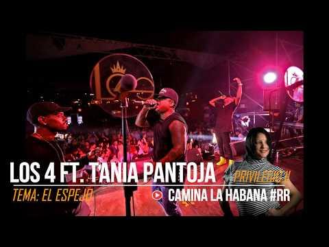 EL ESPEJO - LOS 4 ft. TANIA PANTOJA (PRIVILEGIO II) 2017 | CAMINA LA HABANA by RENZO REY #RR