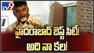 Hyd. is my brain child, best city: Chandrababu..