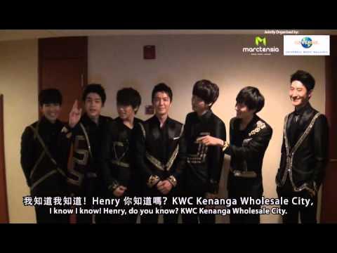 2012 Asia Super Showcase in Malaysia - Super Junior M