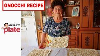 HOW TO MAKE GNOCCHI | Italian Grandma Makes Gnocchi di Patate | Homemade Recipe