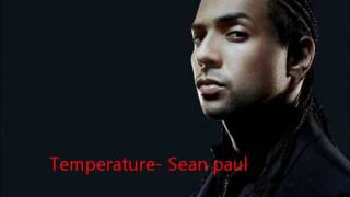 Temperature- Sean paul HQ