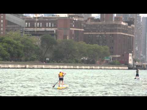 SEA Paddle NYC w Surfers Environmental Alliance