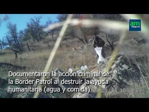 Agentes de la Border Patrol destruyen ayuda y provocan muerte de paisanos en el desierto de Arizona