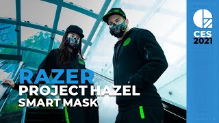 RAZER Project Hazel is the Smart Mask We Needed Months Ago (CES 2021)