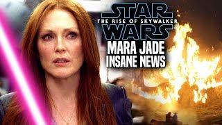 The Rise Of Skywalker Mara Jade INSANE News Revealed! (Star Wars Episode 9)
