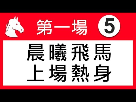 賽馬精選 第1場 晨曦飛馬 上場熱身 「波仔」2019-07-10