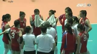 Bangkok Glass Vs April 25 l 2015 Asian Women's Club Volleyball Championship l Quarterfinals l Set 1