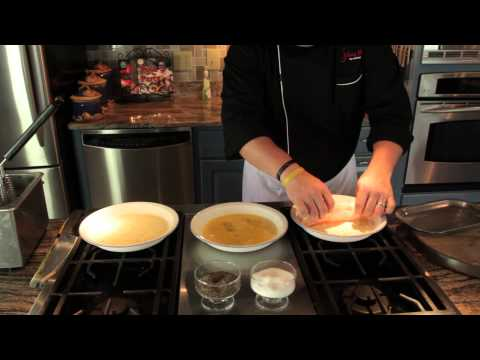 Breading for Fish & Chips : Making Meals Delicious - cookingguide  - -vOTSmwsXEY -