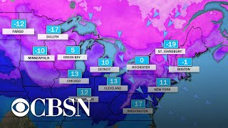 Winter storm to impact swaths of the northern U.S.