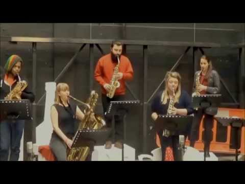 Iguana Rouge - sax ensemble by Nigel Wood