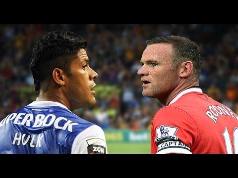 Video 'gây tranh cãi': Khi Hulk và Rooney cùng làm vỡ bóng