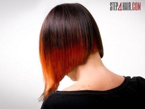 step4hair.com: Undercutting z asymetryczną linią strzyżenia, koloryzacja - alternatywa dla ombre.