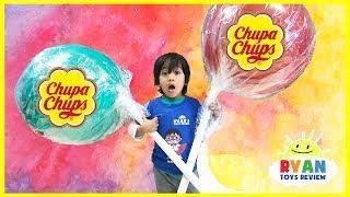 World's Largest Giant Chupa Chups Lollipops