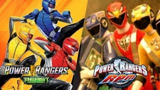 Power Rangers RPM & Beast Morphers CROSSOVER CONFIRMED!