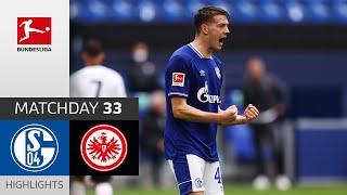 FC Schalke 04 - Eintracht Frankfurt | 4-3 | Highlights | Matchday 33 – Bundesliga 2020/21