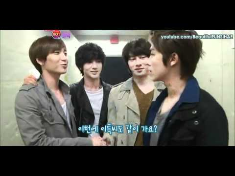 (ENG)110827 Super Junior at Backstage - Heechul's Message